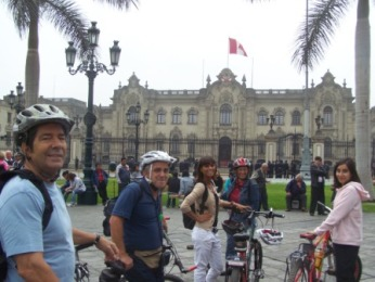 Gomes da Silva - Lima city bike tour - perucycling.com