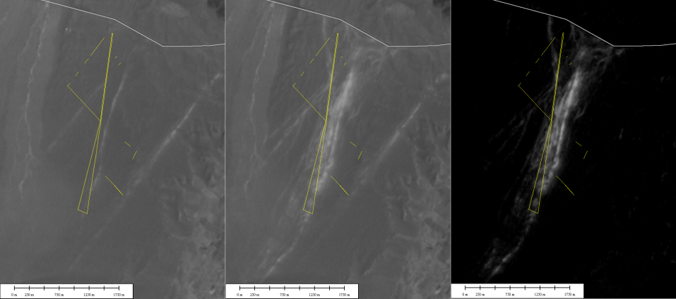 Dakar damages on Ica geoglyphs seen from satellite www.perucycling.com