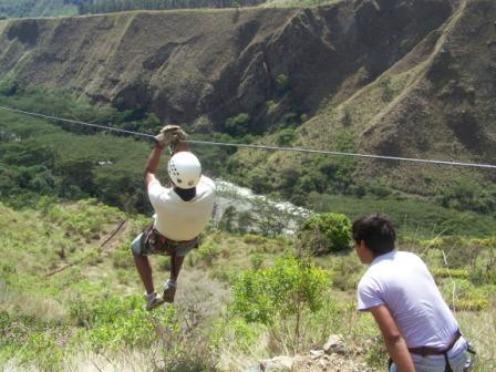 Optional Santa Teresa Canopy Zip Line